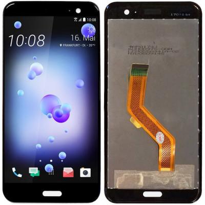 Дисплей для HTC U11 в сборе с тачскрином, черный