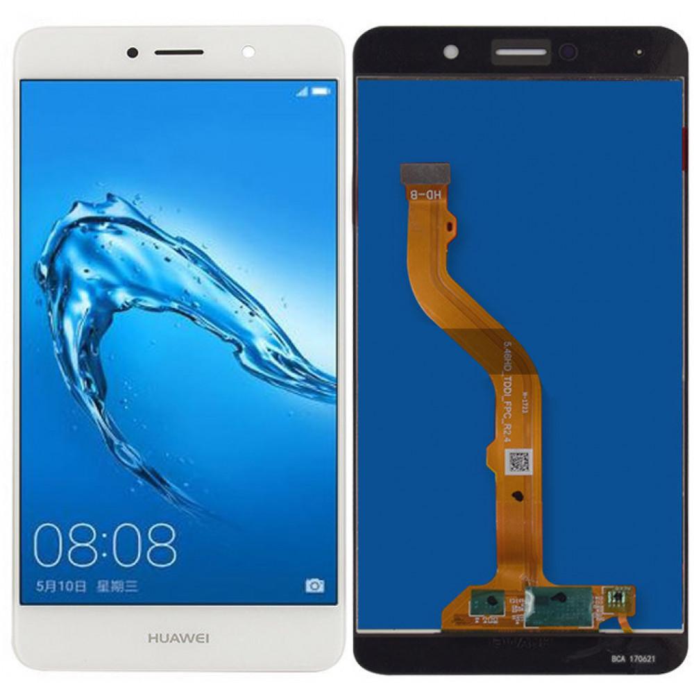Дисплей для Huawei Enjoy 7 Plus в сборе с тачскрином, белый