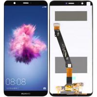 Дисплей для Huawei Enjoy 7S / P Smart в сборе с тачскрином, черный