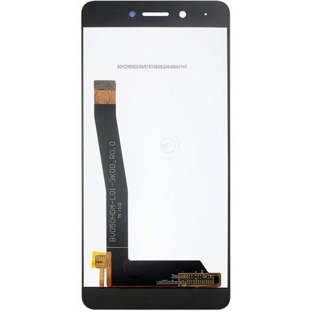 Дисплей для Huawei Honor 6C в сборе с тачскрином, черный
