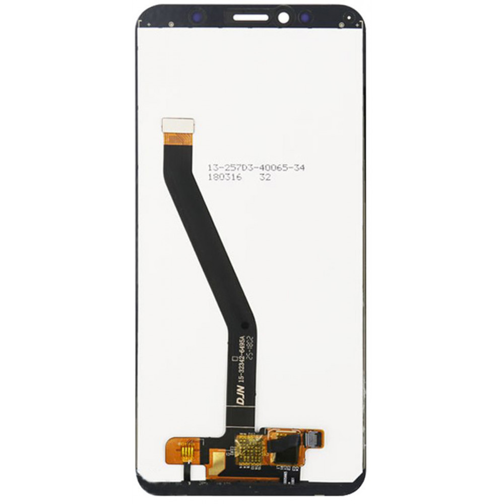 Дисплей для Huawei Honor 7A Pro в сборе с тачскрином, черный
