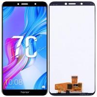 Дисплей для Huawei Honor 7C в сборе с тачскрином, черный