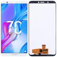 Дисплей для Huawei Honor 7C в сборе с тачскрином, белый