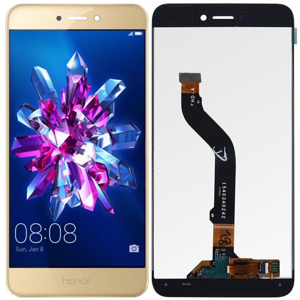 Дисплей для Huawei Honor 8 Lite (2017) в сборе с тачскрином, золотой
