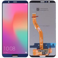 Дисплей для Huawei Honor View 10 ( V10 ) в сборе с тачскрином, синий