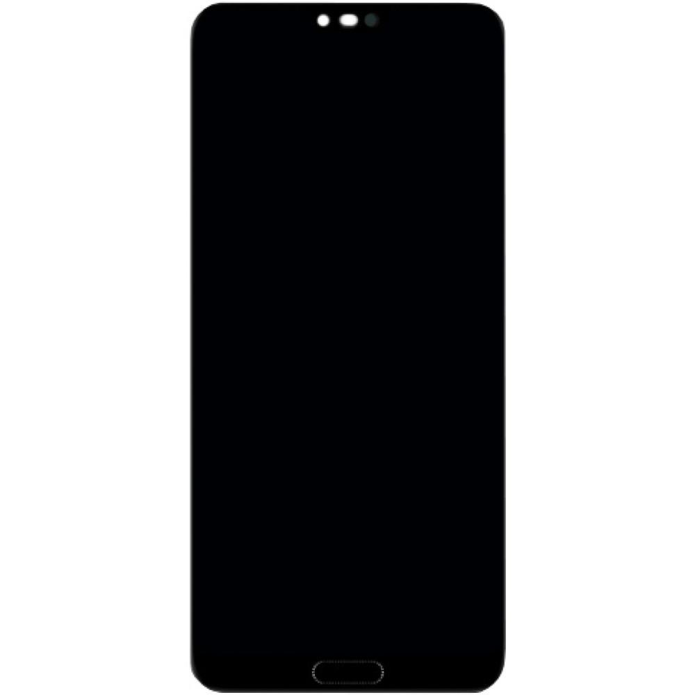 Дисплей для Huawei Honor 10 (COL-L29) в сборе с тачскрином и датчиком отпечатка пальца (Оригинал)