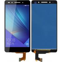 Дисплей для Huawei Honor 7 в сборе с тачскрином, черный