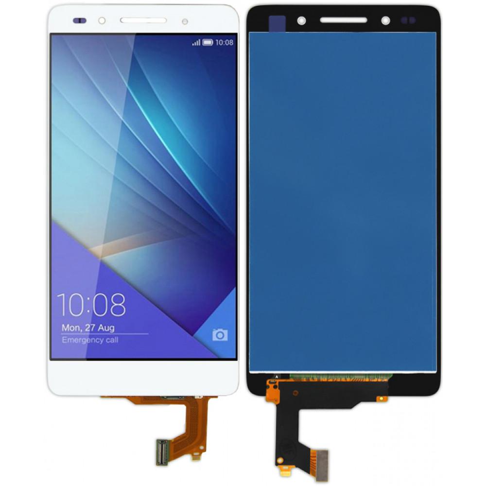Дисплей для Huawei Honor 7 в сборе с тачскрином, белый