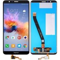 Дисплей для Huawei Honor 7X в сборе с тачскрином, черный