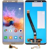 Дисплей для Huawei Honor 7X в сборе с тачскрином, золотой