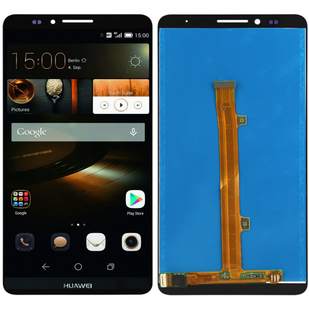 Дисплей для Huawei Mate 7 в сборе с тачскрином, черный