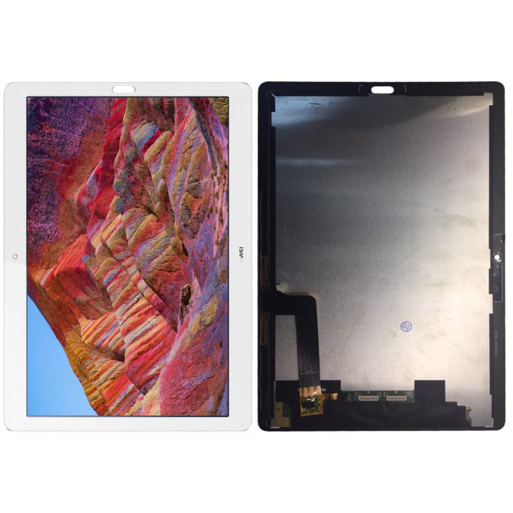 Дисплей для Huawei MediaPad M5 10 в сборе с тачскрином, белый