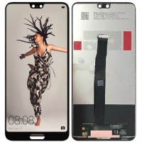 Дисплей для Huawei P20 в сборе с тачскрином, черный