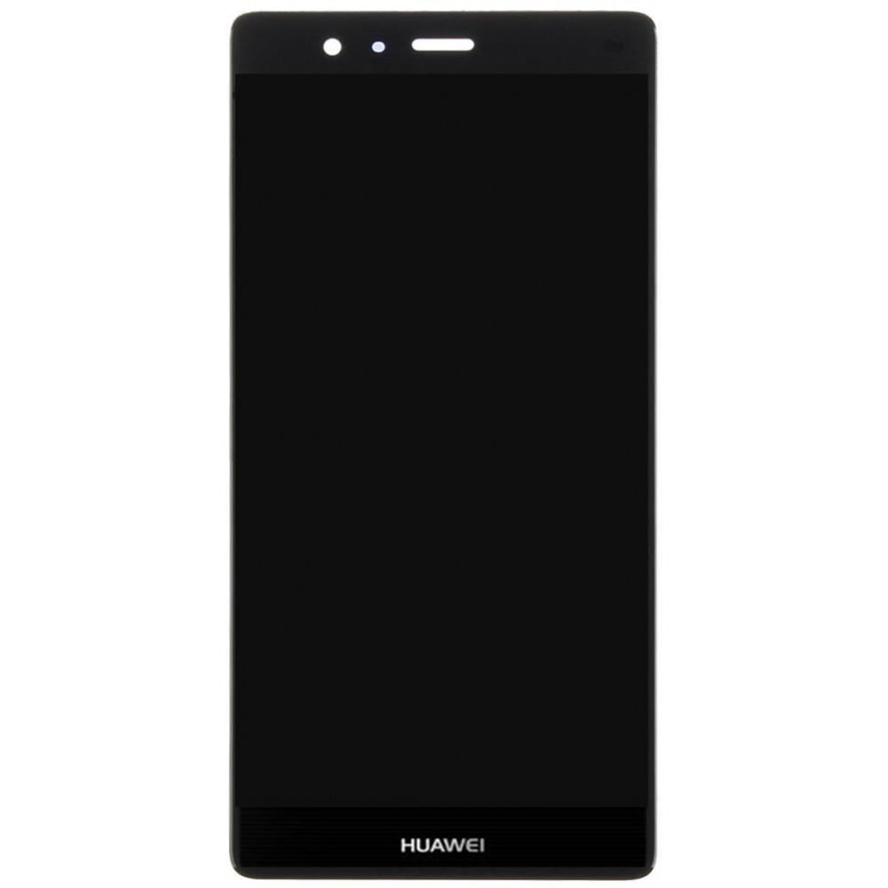 Дисплей для Huawei P9 в сборе с тачскрином, черный