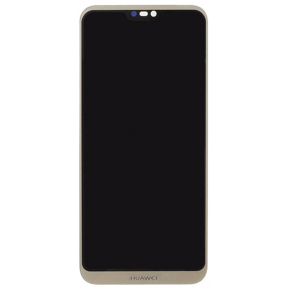 Дисплей для Huawei P20 Lite/ Nova 3E в сборе с тачскрином, золотой