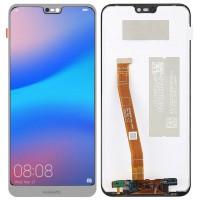 Дисплей для Huawei P20 Lite/ Nova 3E в сборе с тачскрином, белый