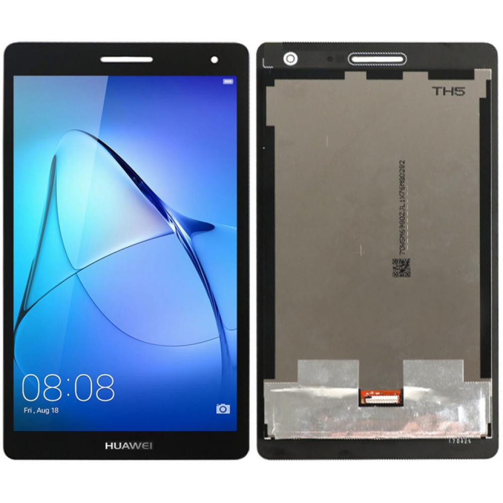 Дисплей для Huawei MediaPad T3 7.0 3G в сборе с тачскрином, черный