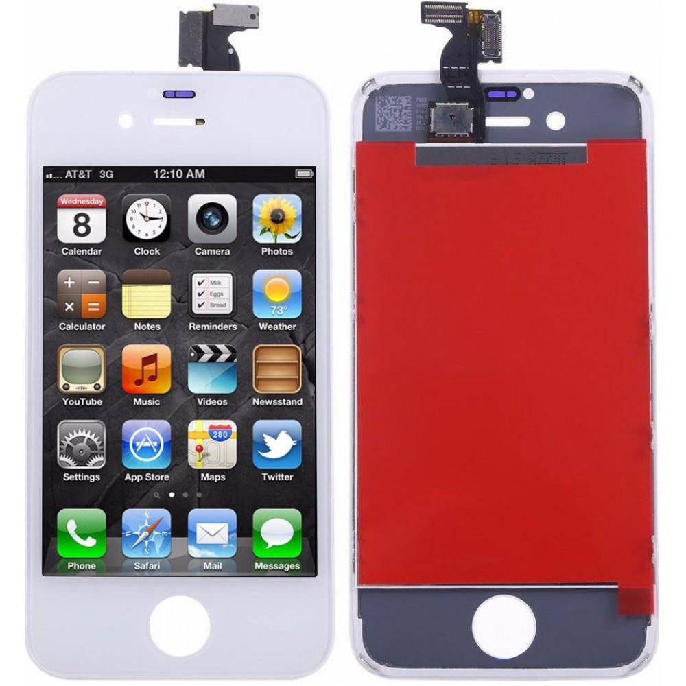 Дисплей для iPhone 4S в сборе с тачскрином, белый