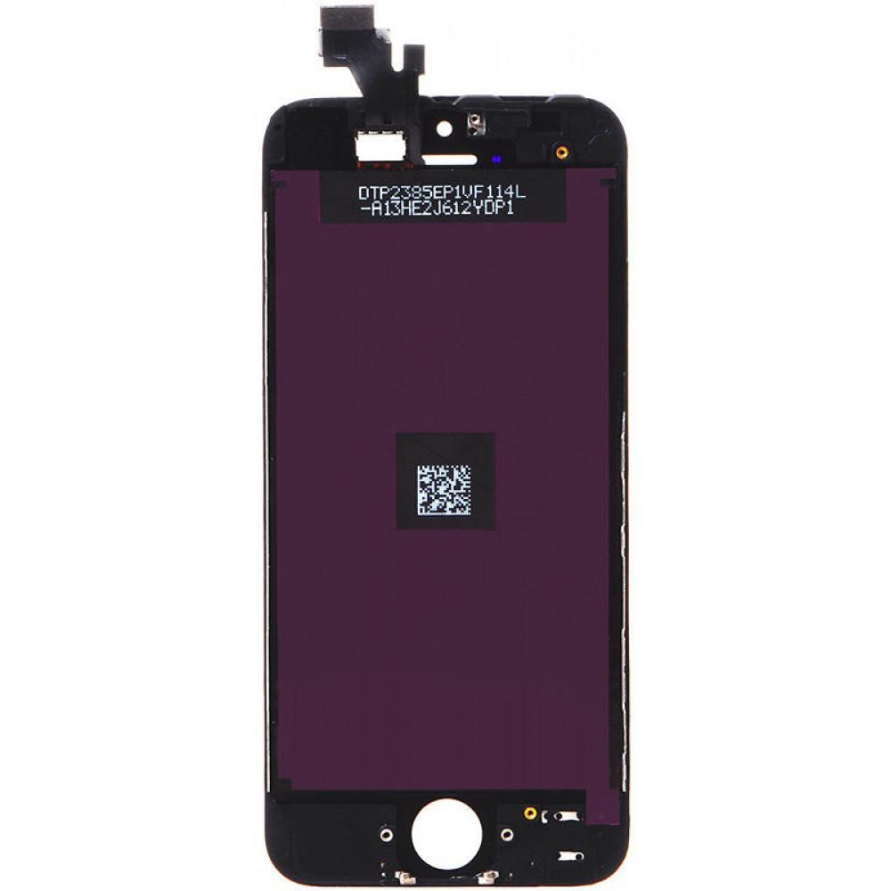 Дисплей для iPhone 5 в сборе с тачскрином, черный
