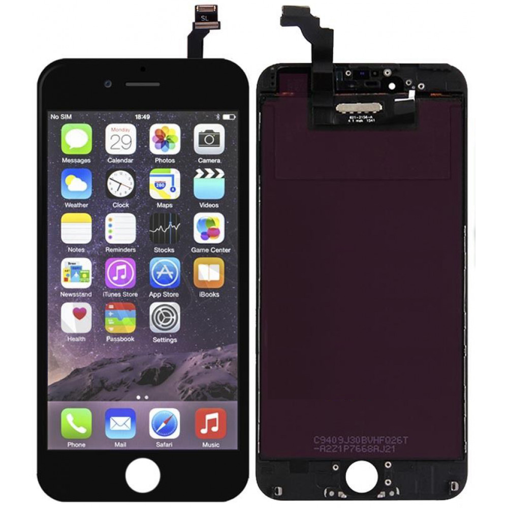 Дисплей для iPhone 6 Plus в сборе с тачскрином, черный