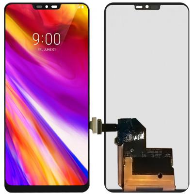 Дисплей для LG G7 ThinQ в сборе с тачскрином, черный