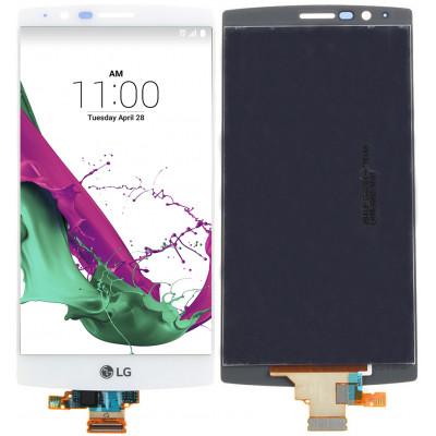 Дисплей для LG G4 (H818/H815) в сборе с тачскрином, белый