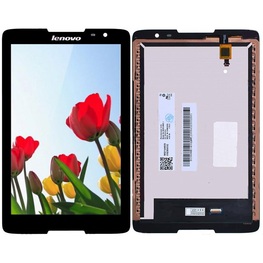 Дисплей для Lenovo Idea Tab A5500 в сборе с тачскрином, черный
