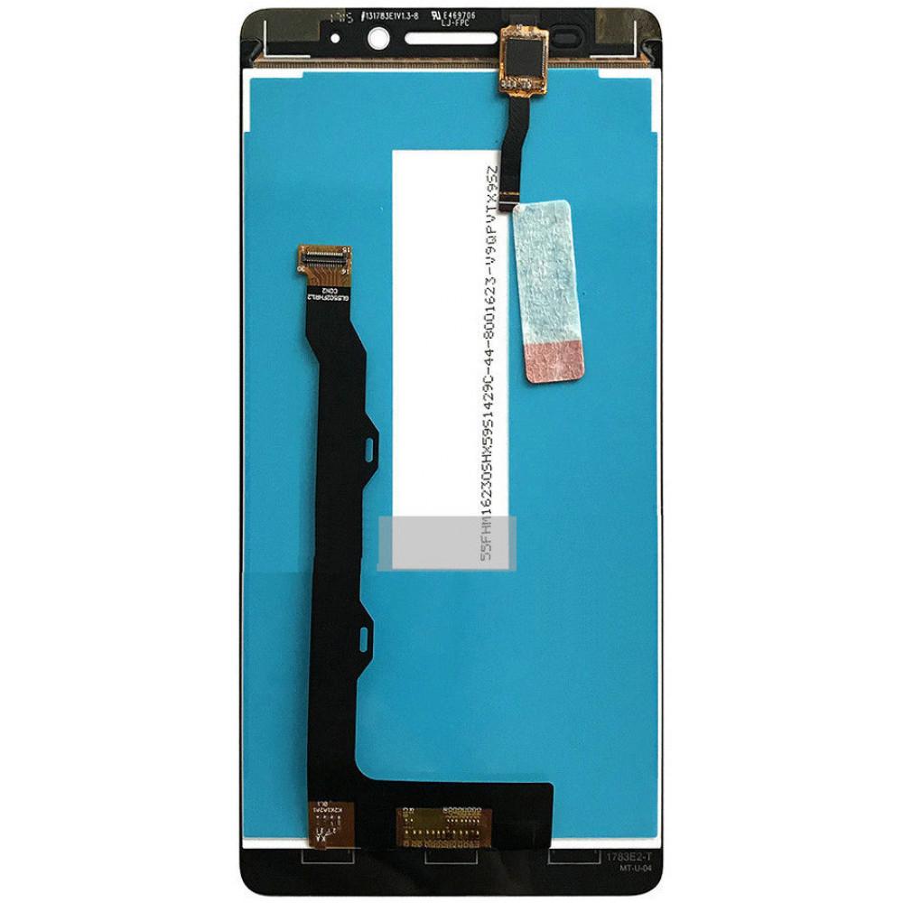 Дисплей для Lenovo K3 Note (K50-T5) в сборе с тачскрином, черный