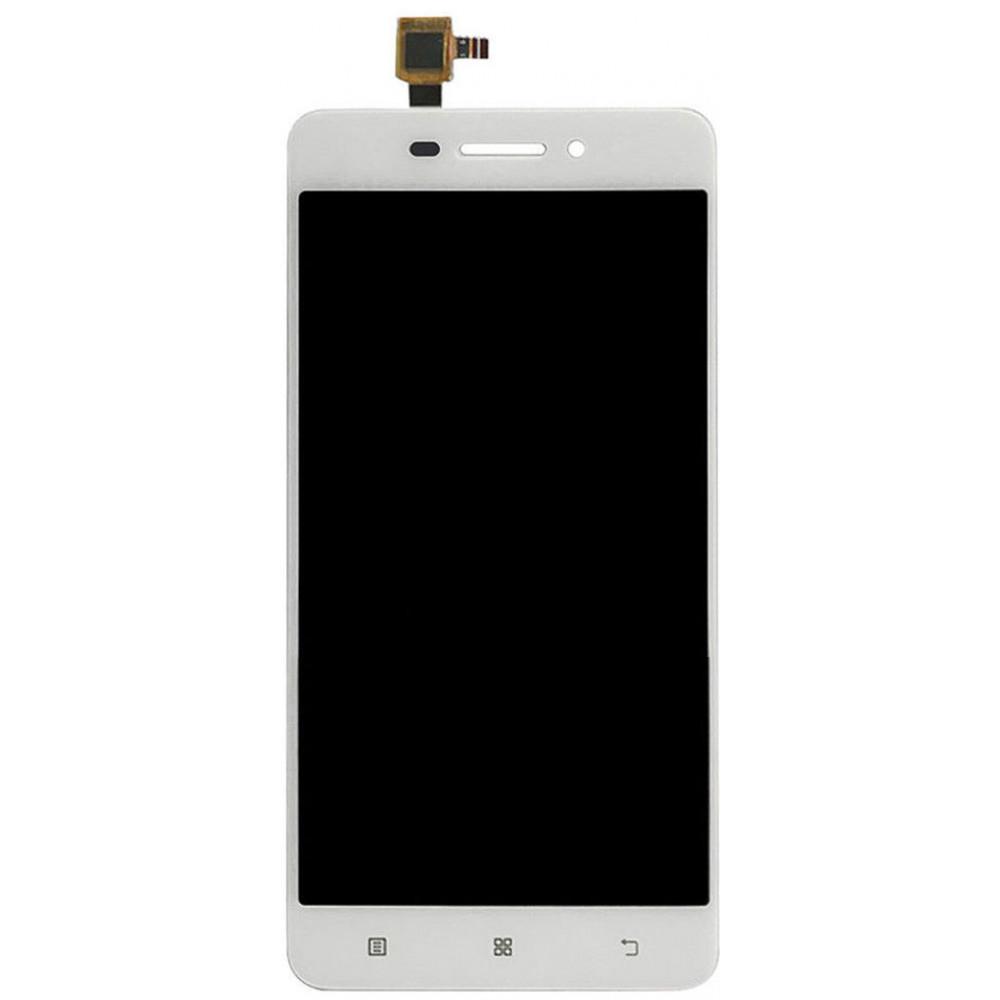Дисплей для Lenovo S60 в сборе с тачскрином, белый