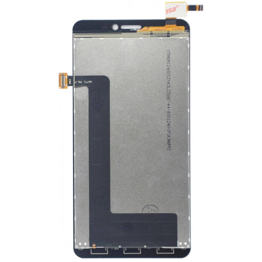 Дисплей для Lenovo S850 в сборе с тачскрином, белый