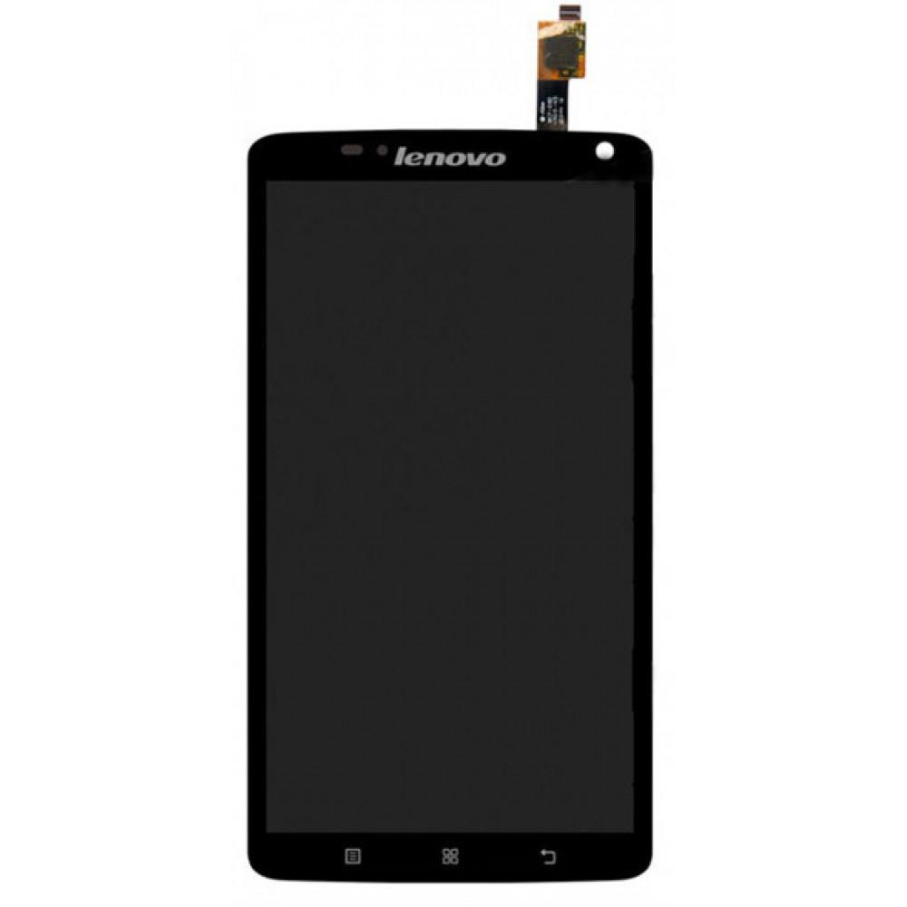 Дисплей для Lenovo S930 в сборе с тачскрином, черный