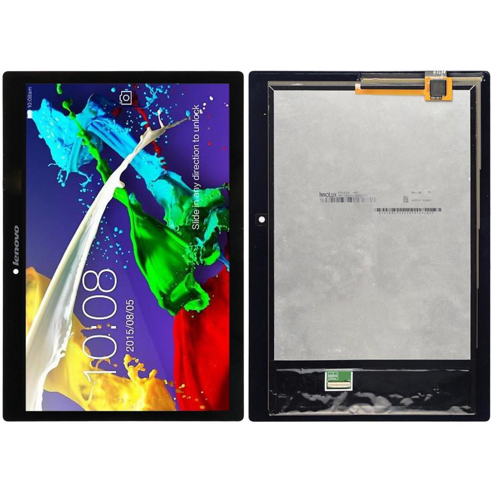 Дисплей для Lenovo Tab 2 (A10-70) в сборе с тачскрином, черный