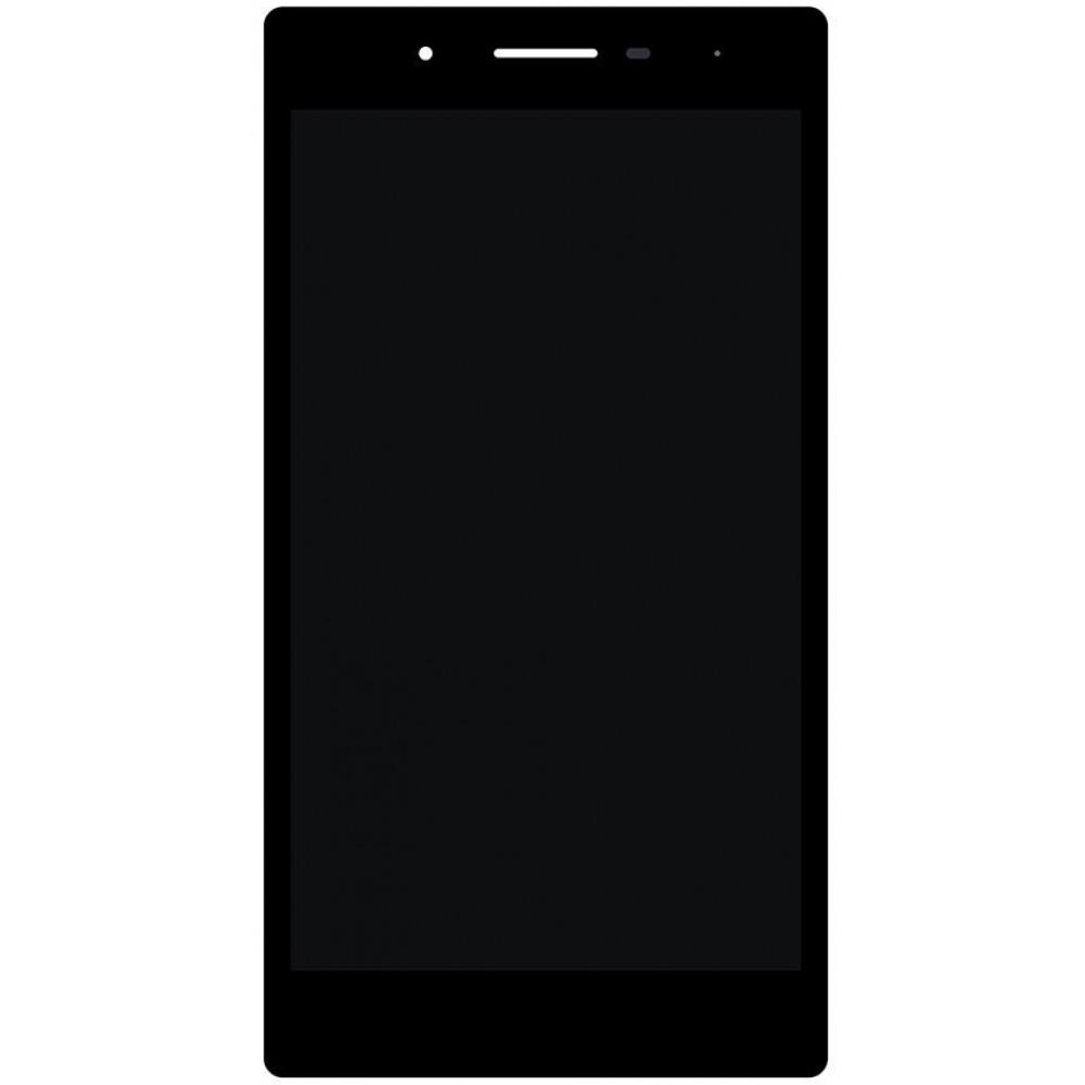 Дисплей для Lenovo Tab 3 (TB3-730) в сборе с тачскрином, черный