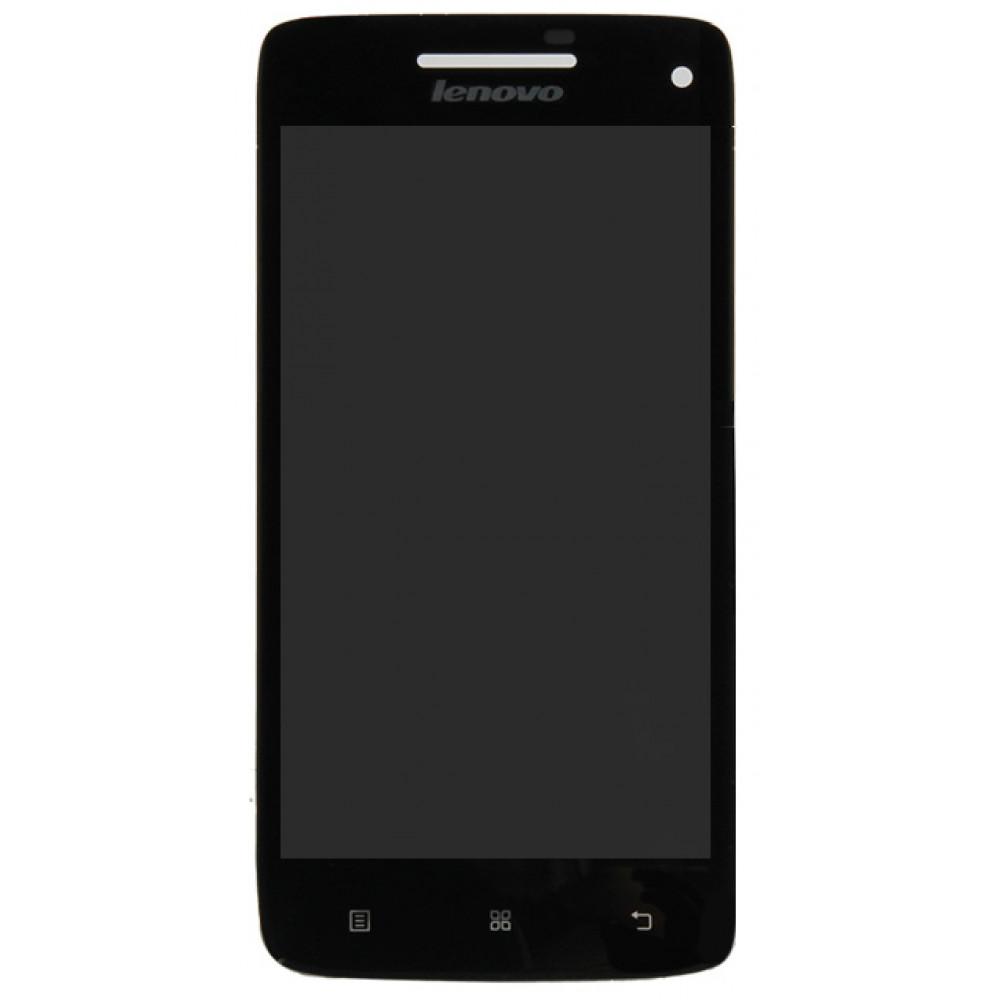 Дисплей для Lenovo Vibe X (S960) в сборе с тачскрином, черный