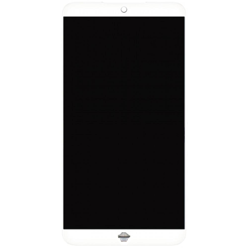 Дисплей для Meizu 15 в сборе с тачскрином, белый
