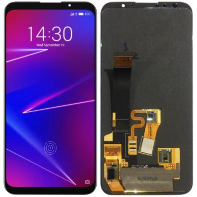 Дисплей для Meizu 16 в сборе с тачскрином, черный