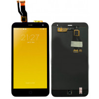 Дисплей для Meizu M1 Mini в сборе с тачскрином, черный