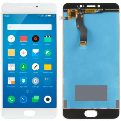 Дисплей для Meizu M3 Note (L681h) в сборе с тачскрином, белый