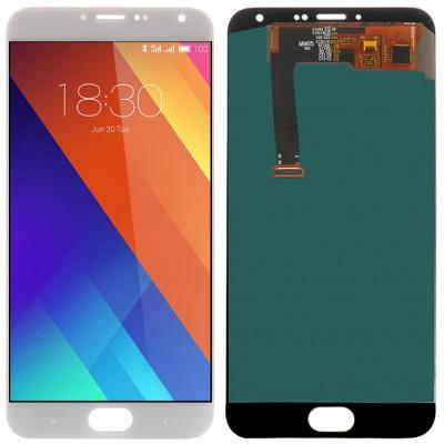 Дисплей для Meizu MX5 в сборе с тачскрином, белый