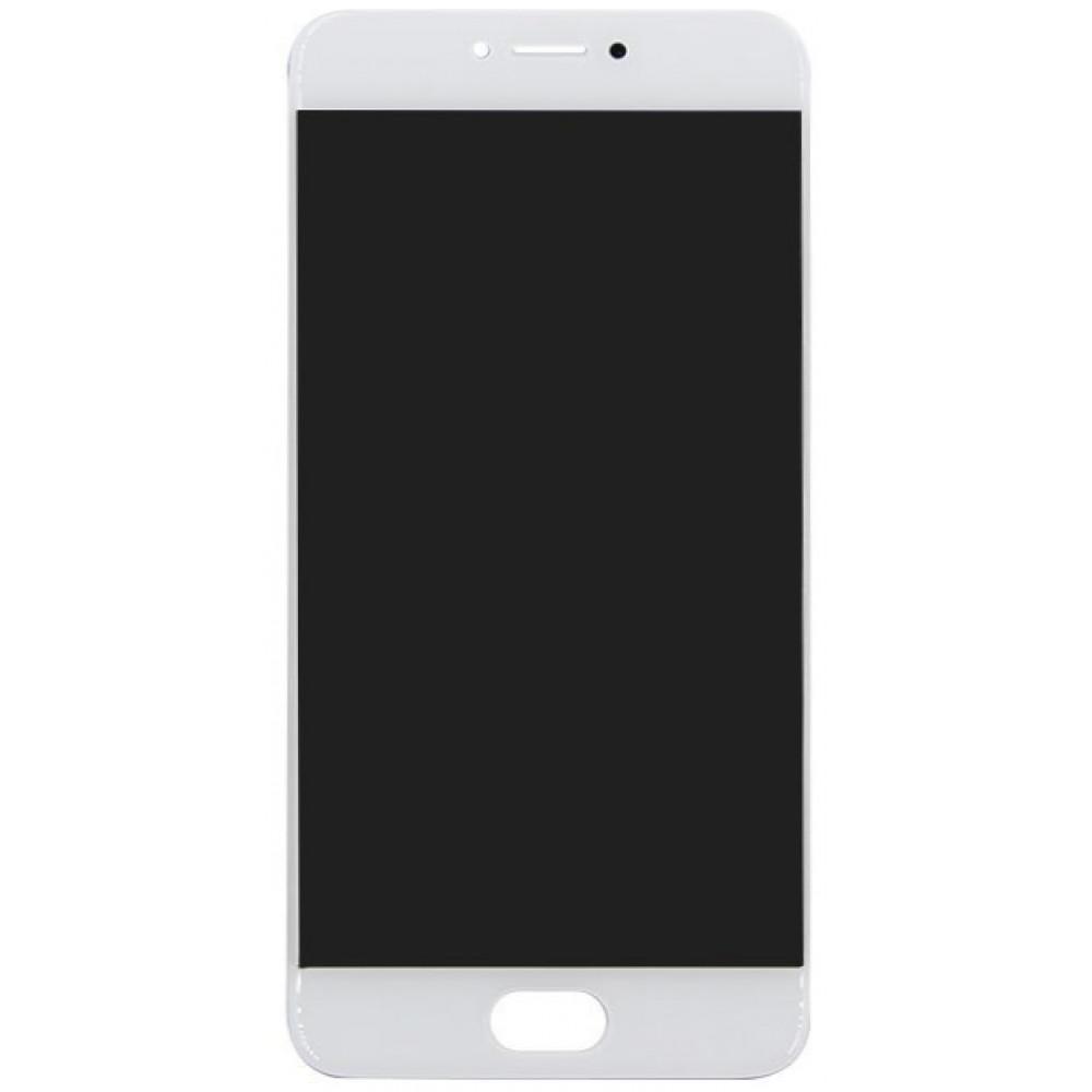 Дисплей для Meizu Pro 6 / Pro 6S в сборе с тачскрином, белый