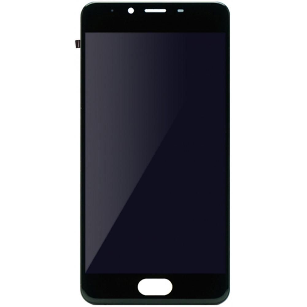 Дисплей для Meizu U10 в сборе с тачскрином, черный