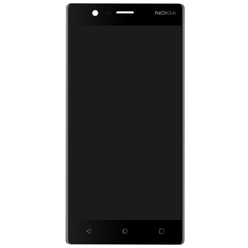 Дисплей для Nokia 3 в сборе с тачскрином, черный