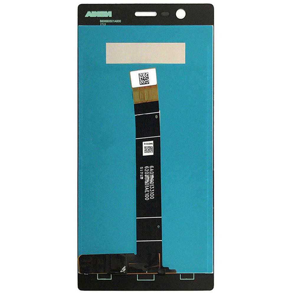 Дисплей для Nokia 3 в сборе с тачскрином, белый