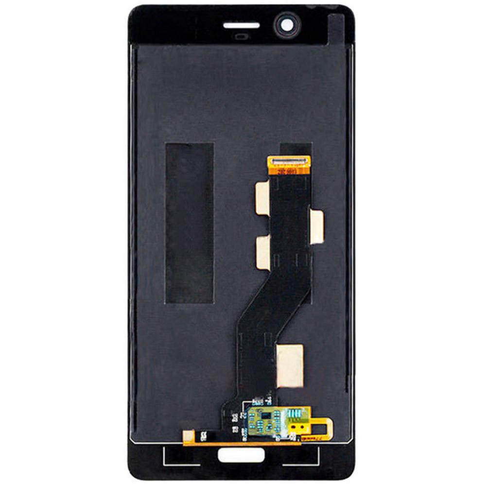 Дисплей для Nokia 8 в сборе с тачскрином, черный