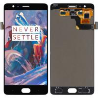 Дисплей для OnePlus 3 / 3T в сборе с тачскрином, черный