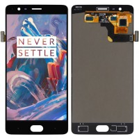Дисплей для OnePlus 3 / 3T в сборе с тачскрином, Black (Оригинал)