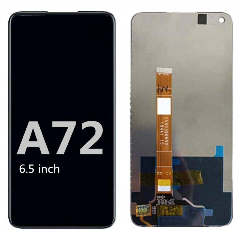 Дисплей для OPPO A72 в сборе с тачскрином, черный