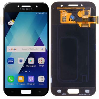 Дисплей для Samsung Galaxy A3 (A320F 2017) в сборе с тачскрином, черный