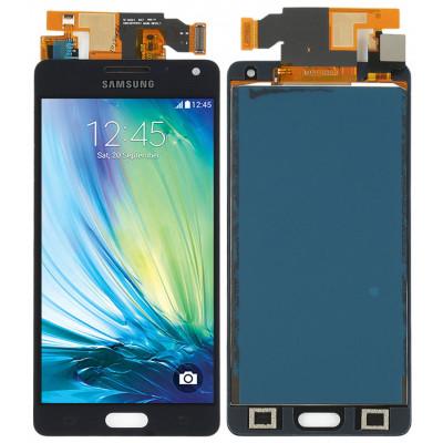 Дисплей для Samsung Galaxy A5 (A500F 2015) в сборе с тачскрином, черный