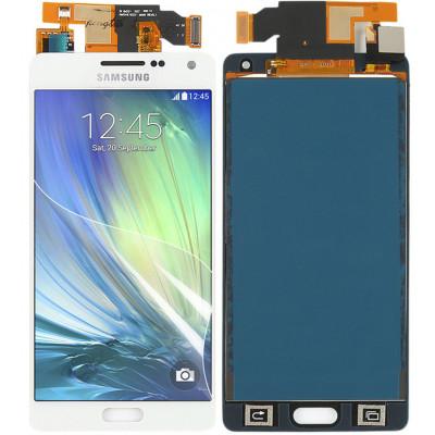 Дисплей для Samsung Galaxy A5 (A500F 2015) в сборе с тачскрином, белый